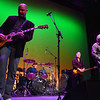 "Sandy Hook residents Doug Wahlberg, far right, and bassist George Miller performed along with drummer Rich Genovese, Tim ""T-Bone"" Stone on keys and Rick Tedesco on guitar and vocals, during night one of the Ridgefield Playhouse's Concert for Hope & Healing, January 19. (Voket photo)"