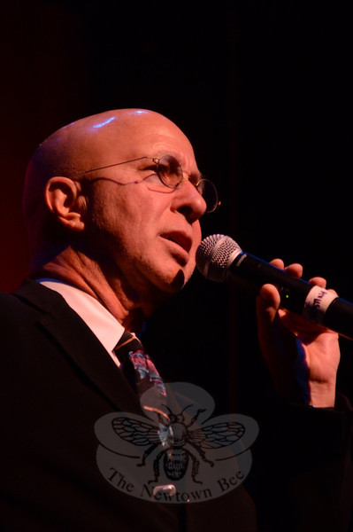 Famed David Letterman and Saturday Night Live band leader Paul Shaffer was on hand to lend emcee duties to the Ridgefield Playhouse's Concert for Hope & Healing on January 19. (Voket photo)