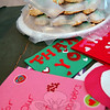 Cookies and handmade valentines were dropped off at the Newtown United Methodist Church on Monday, February 11, for the Sandy Hook School Valentines For Heroes effort. (Hallabeck photo)