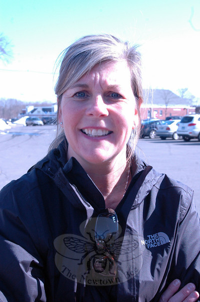 Newtown Bee: What makes you happy? Rita Morlock: Sunshine. (Hallabeck photo)