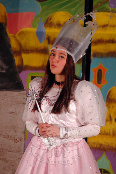 Kyra Alvarez performed during a dress rehearsal for the Newtown Middle School upcoming production of The Wizard of Oz was held on Tuesday, March 12. (Hallabeck photo)
