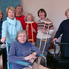The Newtown Visiting Nurse Association has provided health and medical services for more than 90 years, including a free medical loan closet. The VNA maintains a supply of wheelchairs and other durable medical equipment available to residents who have a temporary need for items such as crutches, commodes, canes, etc. Local residents can call 203-270-4377 to make requests and arrangements. (Hallabeck photo)