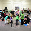 CircusYoga at Hawley School. (Bobowick photo)