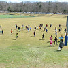 One of the fields at Treadwell Park quickly filled with children rushing to grab plastic, candy-filled eggs off the lawn Saturday, March 30. (Bobowick photo)