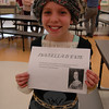 "Reed Intermediate School sixth grader Isabella Manfredi portrayed Isabella D'este for her cluster's ""One Person Can Make a Difference"" project presentation on Wednesday, April 10. (Hallabeck photo)"