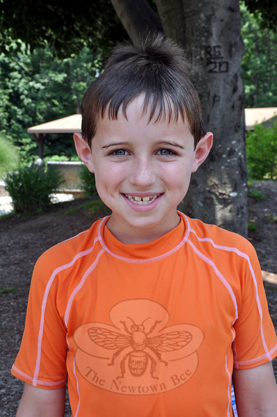 Newtown Bee: What is your favorite aquatic activity? Oliver Charles: Jumping off the diving board. You can go high and far, and do cool jumps. (Dietter photo)
