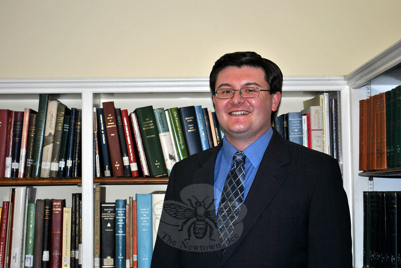 Shawn Fields is the new director of the C.H. Booth Library. Mr Fields started his position on July 1. (Crevier photo)