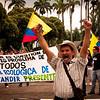 El pasado 15 de marzo, miles de personas marcharon en Bucaramanga (Santander) por el agua y contra la gran minería en el páramo de Santurbán. <br /> Fotografías: Leonardo Villamizar