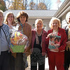 Visitors from the State Education Resource Center (SERC) visited the Children's Adventure Center on Thursday, October 18, to deliver a donation of books in honor of former acting State Department of Education Commissioner George Coleman. From left are Patty Wagner, Signe Lambertsen, SERC Assistant Director Carol Sullivan, Children's Adventure Center Director Judy Sims, Children's Adventure Center Board of Directors Chair Mae Schmidle, and First Selectman Pat Llodra. (Hallabeck photo)