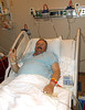 YEP, THAT'S DOUG<br /> After my very first Emergency Room visit back in Dallas (an idiot bike ride down a flight of stairs into a concrete wall), my sister Lyn remarked that the only way she knew it was me was that I flashed her a peace sign. It's been my trademark in times of trouble ever since.