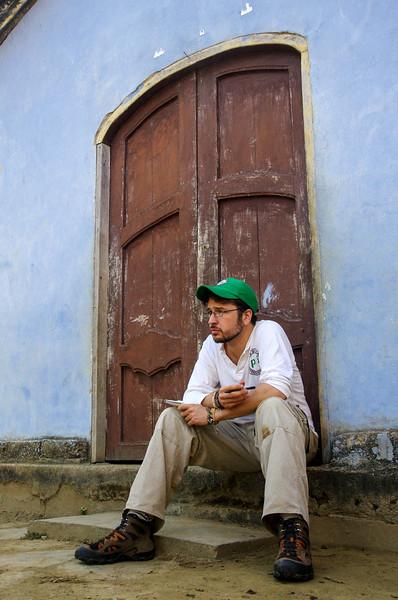 Acompañamiento a Nech (Aheramigua)i, fotos de Florian de 2014 (Florian y Stephan, BB)