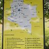 El sendero de la memoria recuerda a 25 masacres que desagarraron Colombia.