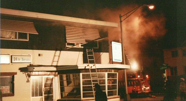 Arlington Apartment Fire - Haight Ave. - March 7, 1991