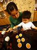 Sunny Chi of Meizhou teaches youngster Xiao Baobao how to make kungfu tea