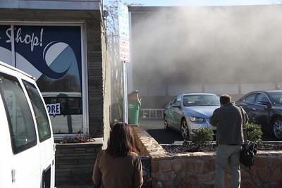 Arlington Commercial Building Fire - Nov. 18, 2009