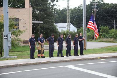 Fairview Firefighters honor Civil War Veteran Motorcade - Sept. 16, 2009