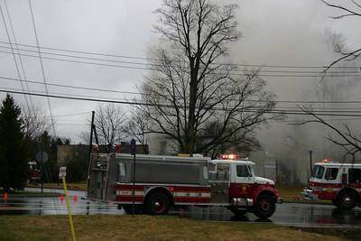 LaGrange House Fire at 8 Patrick Lane - March 29, 2009