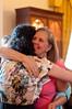 Krista Kurth enthusiastically greets Sophia Maravell.