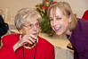 Rita De Lazzari, 103 years old and her grand-daughter-in-law Leanne Long