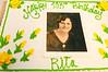 Rita De Lazzari, 103 years old (picture on cake was taken wheb Rita was 18 years old)