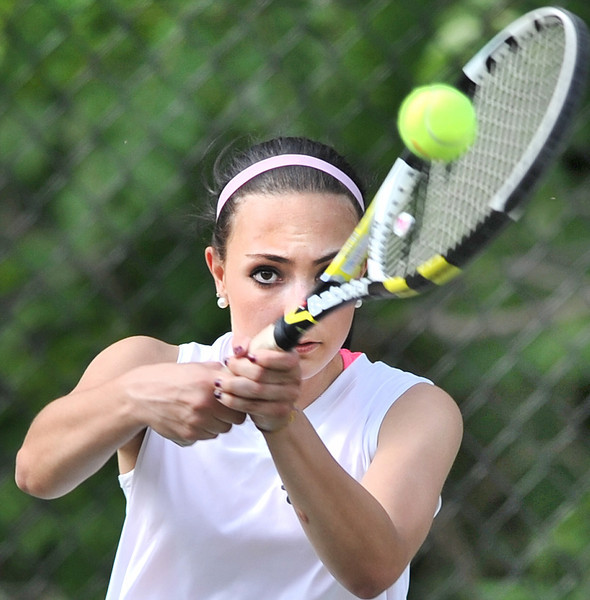 Saint Dom's vs Boothbay girls tennis