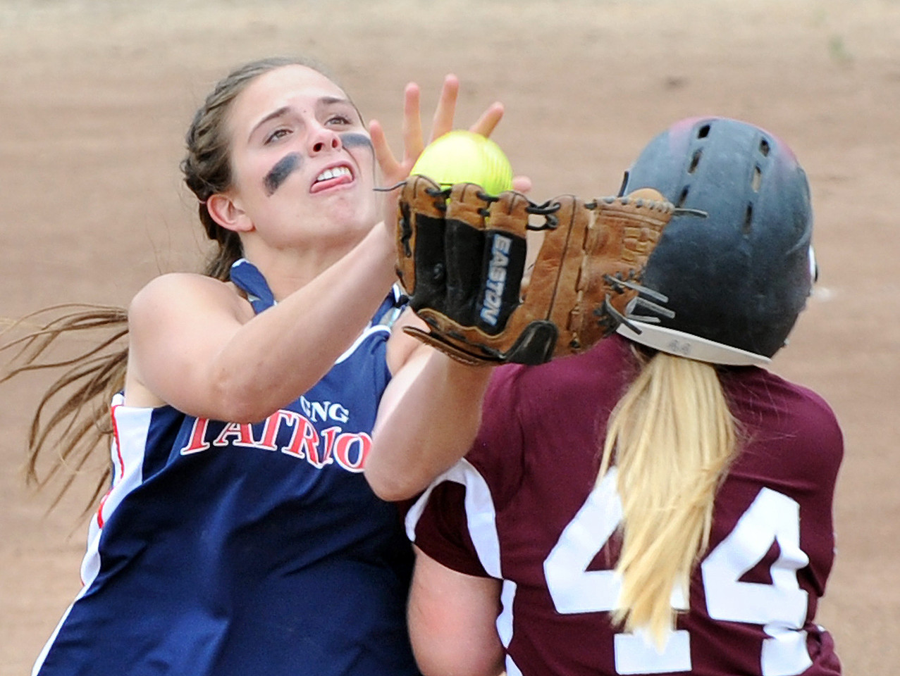 Greely vs Gray-New Gloucester softball playoff