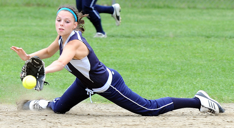Telstar at Dirigo softball playoff