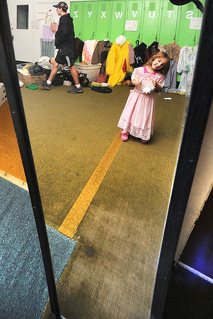 Costume and fabric sale at CLT