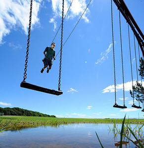 Peaceful swing