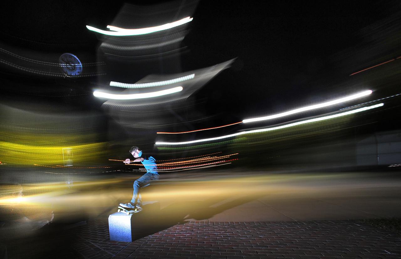 Light skatborading