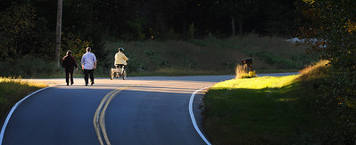 Fall walk and ride