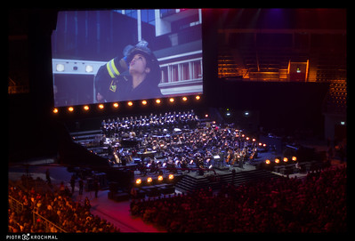 International TV Series Gala - Concert took place in TAURON Krakow Arena as part of the Film Music Festival @ 30th of May 2015