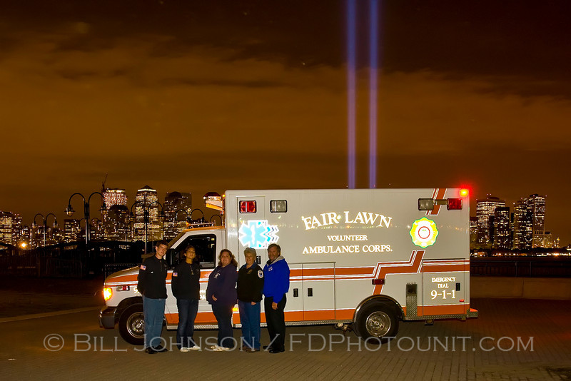 9-11-2008  Towers of Light tribute at Liberty State Park
