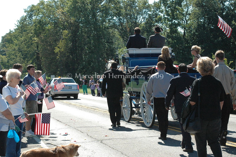 The town of Streetsboro came out to usher home a fallen soldier and favorite son.