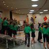 "Sandy Hook School fourth grade students performed, under the guidance of music teacher Maryrose Kristopik, in a special school presentation on Wednesday, May 8, before the school's Spring Concert was performed the following night for family and friends. When performing ""Under the Sea,"" some students got up and walked around with paper fish.   (Hallabeck photo)"