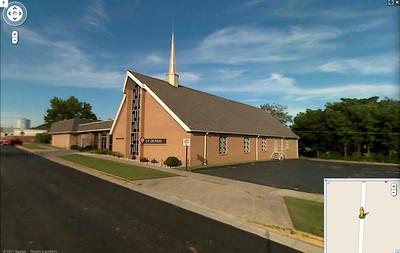 Blendville Christian Church before the tornado - IMG# 08- 011364
