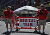 "Colorado Springs Fire Department's Medical Team, serving the ""Bike Fest"" on Tejon Street in downtown Colorado Springs, Colorado."