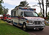 "Hanvover Fire/ Rescue Unit 3572 at ""Medical Staging"" on the Waldo Canyon Fire Incident."