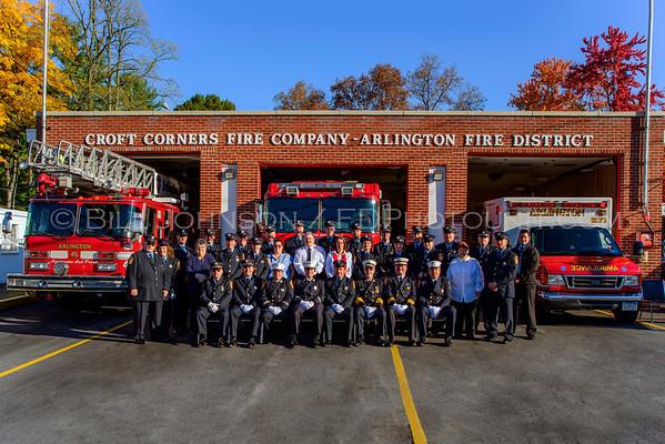 Arlington Station #5 - Croft Corners Fire Company Photo Shoot