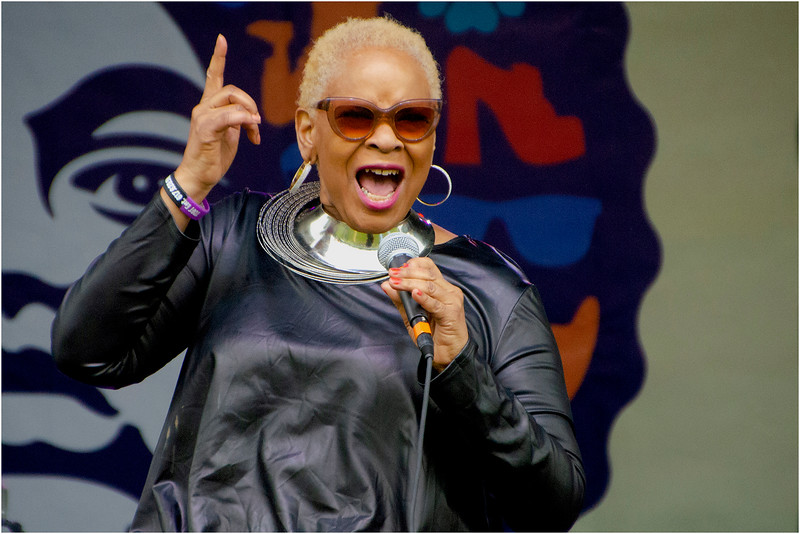 Valerie Stephens pays hommage to Nina Simone.