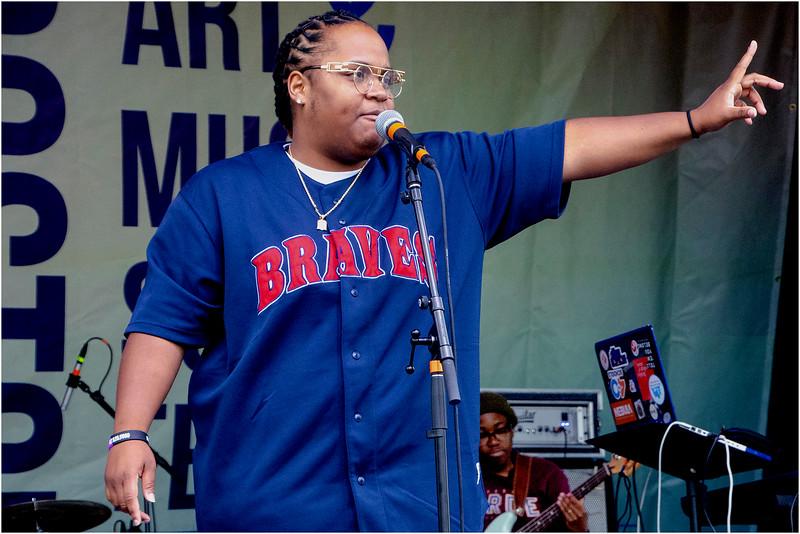 Boston-born poet, rapper and educator, Oompa.