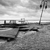Belmar, the morning after Sandy