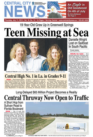 Best Front Pages Central City News