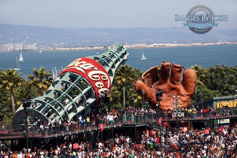 ATT Park_Baseball Glove_Coke Bottle