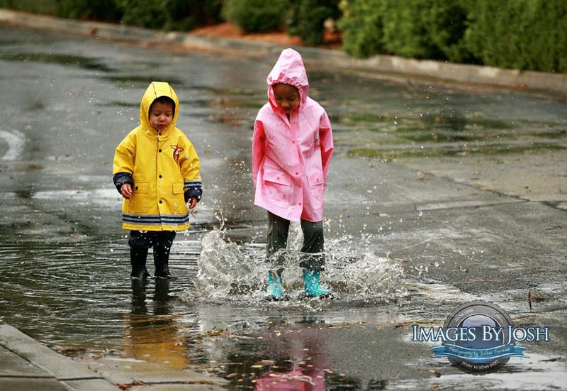 Playing in the rain2