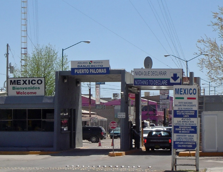 Mexican Port of Entry at Palomas