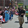 Puerto Rican Festival Parade, July 28. Felix Arroyo.