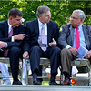 With Marty Walsh, State Rep. and future mayor, and former State Senator Jack Hart, during the May 2012 Memorial Day observance at Cedar Grove Cemetery in Dorchester.