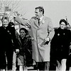 Ray Flynn and family in St. Patrick's Day/Evacuation Day Parade. March, 1984.