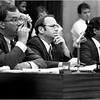 At City Council hearing on rent control in September 1984, with Councilors James Kelly and Charles Yancey.